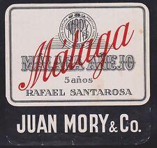 (LOB-37) 1980's Malaga MALACA ANEIO label