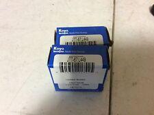 2-Koyo Bearings JTT-67;L449, Free shipping to lower 48, 30 day warranty