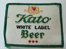 Kato White Label Beer Patch