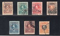 Thailand Sc #B24-30 (1920) World Tiger Corps Charity Set VF Used