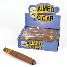 Fake Jumbo Fat Smoking Cigar Fancy Dress Gangster Mexican Accessory Prop