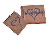 Kingdom Hearts Sora Heart Logo Coin Bifold Wallets Purses