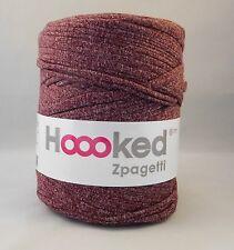 Hoooked Zpagetti T-shirt Jersey Yarn 120m Crochet Knitting Raspberry Mix