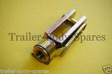 FREE 1st Class Post - 1 x M8 Extended Length Trailer Brake Clevis Pin