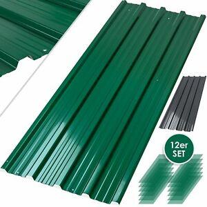 12x Profilblech Trapezblech Blech Metall Dachblech Stahlblech Dach Platten