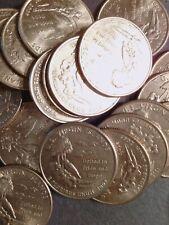 $5 (20) 2009-D & P US Virgin Islands (TERRITORIES) CIRCULATED ATB QUARTERS Clean