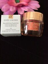 LOT OF 2 ESTEE LAUDER REVITALIZING ANTI-AGING CREME & NUTRIOUS RADIANT GEL