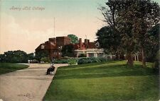 SCARCE OLD POSTCARD - AVERY HILL COLLEGE - ELTHAM - GREENWICH - LONDON C.1912