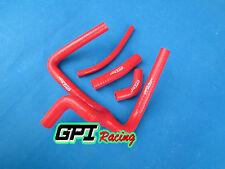 Honda CR250 CR250R silicone radiator Y hose 2002-08 2003 2004 2005 2006,RED