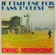 Ennio Morricone 45 tours 1 fois dans Ouest Homme à harmonica Belgique 1976