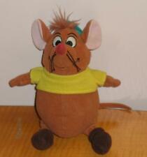 "New listing Disney Cinderella Mouse Gus Gus Beanbag Plush 8"" Stuffed Animal Toy"