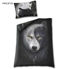 Spiral Direct BEDDING Single Duvet & Pillowcase WOLF CHI Yin Yang