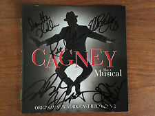 Cagney the musical cd Broadway with signed cd booklet NYC Robert Creighton