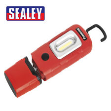 SEALEY LED3601R Rechargeable 360 Inspection Lamp 2W COB LED RED LithiumPolymer