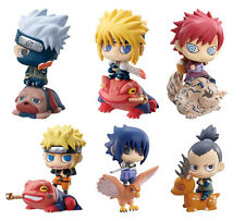 "Naruto 2.5"" 6 pcs Mini Action Figures Set: Kakashi Sasuke Gaara Namikaze & More"