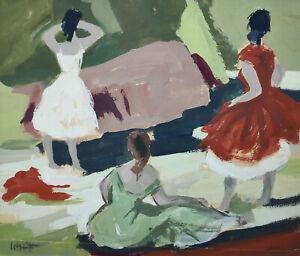 """Schütt, Franz-Theodor (1908 Berlin - 1990 Wiesbaden)   """"Mädchen am Strand"""""""