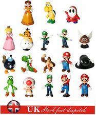 "18pcs/Set 1-3"" Super Mario Bros Figure Kid Toys Doll PCV Figure Collectors Gifts"