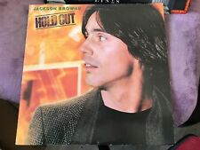 "LP/33T JACKSON BROWNE ""HOLD OUT""  (a33)"