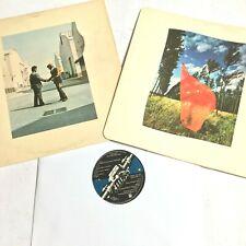 PINK FLOYD - Wish You Were Here 1975 Prog Rock Vinyl LP Album SHVL 814 G+/VG