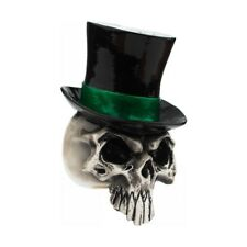 BLACK TOP HAT SKULL VAMPIRE RAT ROD HURST EMO GOTH GOTHIC ORNAMENT GEAR KNOB 6e784004cce6