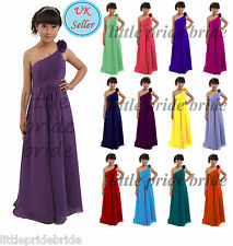 A-Line/Princess Flower Girl Junior Evening Wedding Bridesmaid dress 2-14 FG32