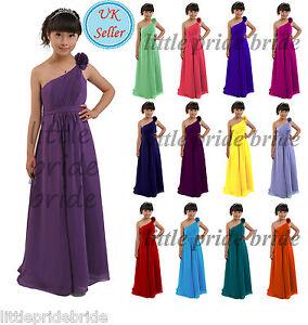 A-Line/Princess Flower Girl Junior Evening Wedding Bridesmaid dress 2-14 FG32