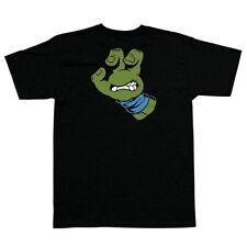 Santa Cruz x Tmnt Teenage Mutant Ninja Turtles Hand Shirt Black/w Blue Xl