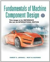 Fundamentals of Machine Component Design by Robert C(Int' Ed Paperback)5 E-NO CD