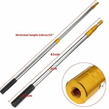 Fishing Rod Telescopic Fish Salmon Barbed Stainless Non-Slip Handle Spear Gig
