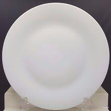"""Lynns Fine China Opulence White Chop Plate 12.25"""" Round Platter"""