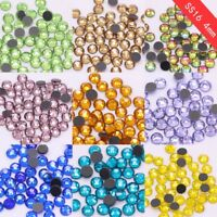 1440p DMC ss16 color Iron on hotfix crystal rhinestone Hot fix strass stone bead