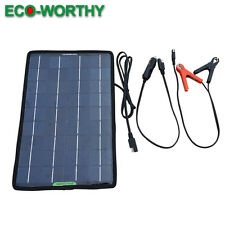 10W Multi-Purpose Portable Solar Panel Battery Charger for Moto automobiles dd