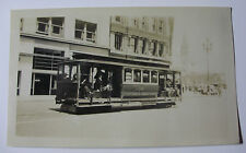 USA703 CALIFORNIA STATE CABLE RAILWAY Co - TROLLEY No9 PHOTO