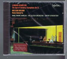 BERNSTEIN CD NEW THE AGE OF ANXIETY WILLIAM BOLCOM CONCERTO FOR PIANO