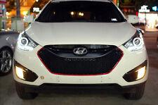 (Fit: Hyundai 10 11 12 Tucson ix35) LED Position Single Head Lamp Assembly