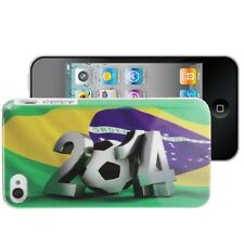 Football World Cup cover custodia mondiali calcio Brasile 2014 per iPhone 4 S