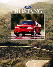1996 Ford Mustang 12-page Original Car Sales Brochure Catalog - GT Convertible