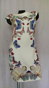 D&G silk butterfly dress