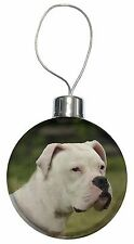 American Staffordshire Bull Terrier Dog Christmas Tree Bauble Decorat, AD-SBT9CB