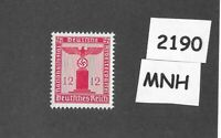 #2190    MNH WWII Germany postage stamp / 1942 PF12 issue / Official Third Reich