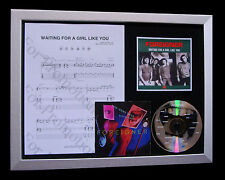 FOREIGNER Waiting For A Girl Like You QUALITY CD FRAMED DISPLAY+FAST GLOBAL SHIP