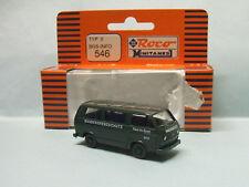 Roco Minitanks - VW VOLKSWAGEN T3 Transporteur TYPE 2 POLIZEI BGS-INFO 546 HO