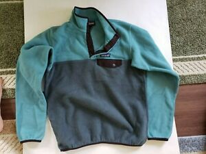 Patagonia Synchilla Snap Fleece Women's S Shades Of Green