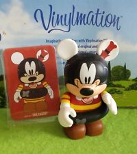 "Disney Vinylmation 3"" Park Set 1 Have A Laugh Goofy How to Swim with Card"