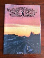 OVERKILL MAGAZINE 10 GRAFFITI WRITING S BAHN BACKJUMPS ON THE RUN BOMBER BERLIN