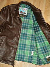 Aero Premier Highwayman size 42 Seal Vicenza Italian Horsehide Leather Jacket