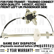 WINDOW REGULATOR- FOR FORD TRANSIT CONNECT/ TOURNEO 2002>ON FRONT LEFT SIDE NEW