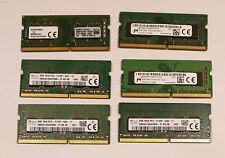 4gb ddr4 2133mhz pc4-17000 pc4-2133p LAPTOP SODIMM RAM PC Speicher 260 Pin Samsung