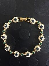 Joan Rivers Classics Collection Pulsera Oro Plateado Cristales de Swarovski
