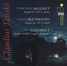 Beethoven/Mozart/Schubert: Sonata Op. 11/Sonata KV 457/Sonata D840, New Music